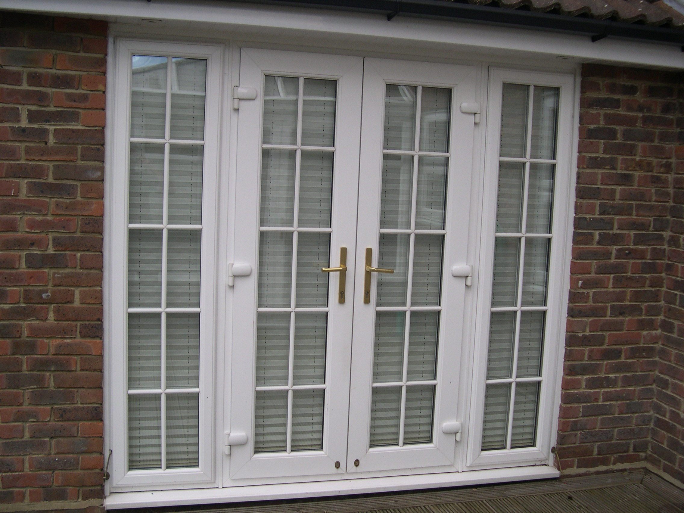 New upvc patio door jcs external solutions for Patio doors uk