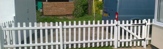 New Pallistrade Fence & Gate